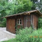 Gartenhaus aus Altholz